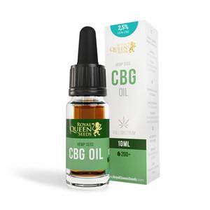 2,5% CBG & 2,5% CBD-olie