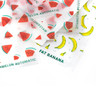 Økologisk rullepapir med print